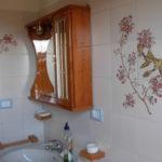 Bagno con vasca lato lavandino